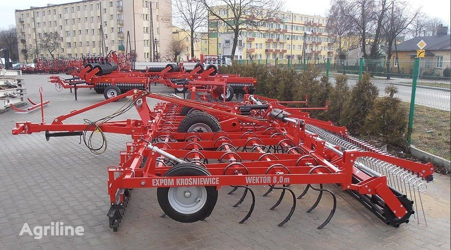 new Expom Wektor seedbed cultivator