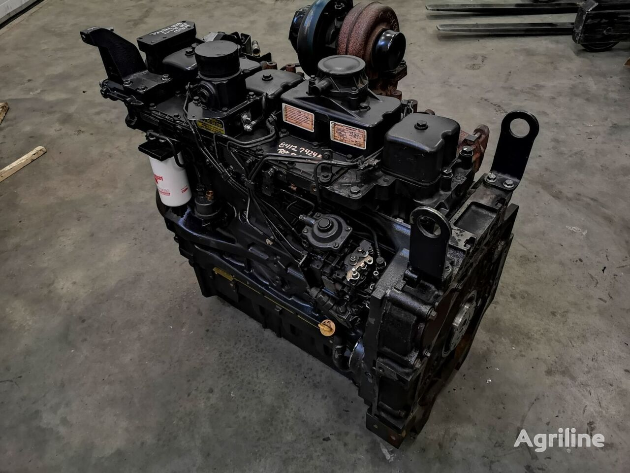new FPT (F4CE9684) engine for tractor