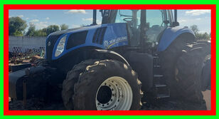 new NEW HOLLAND T8.390 №1651 wheel tractor